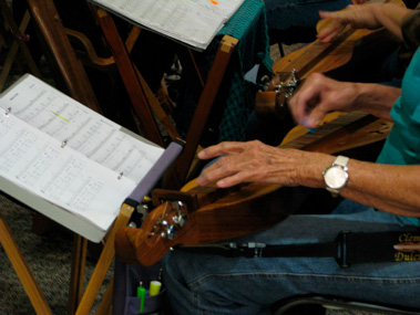 Dulcimer player