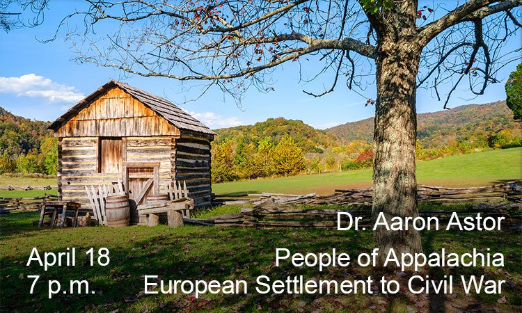 People of Appalachia: European Settlement to the Civil War
