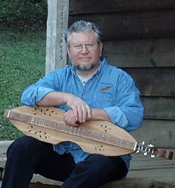 Mike Clemmer with dulcimer
