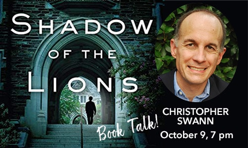 Shadow of the Lions - Book Talk with Christopher Swann