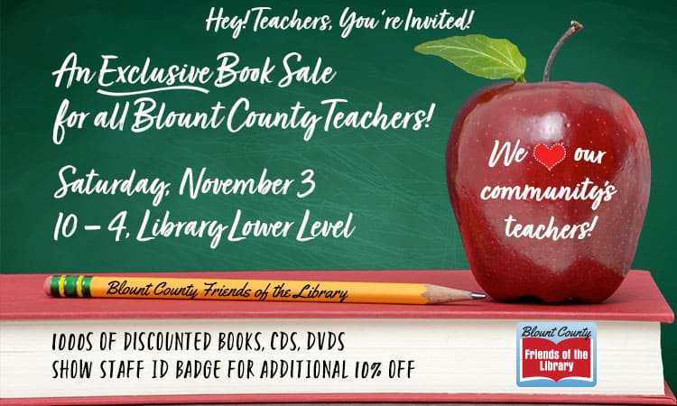 Teachers Only Book Sale