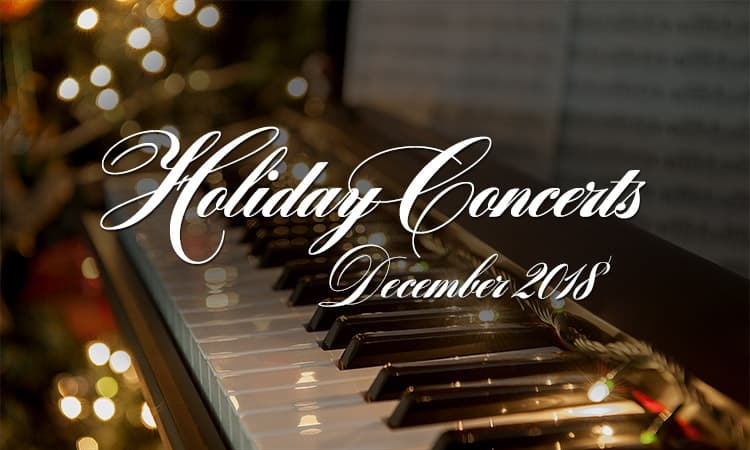 Holiday Concerts 2018