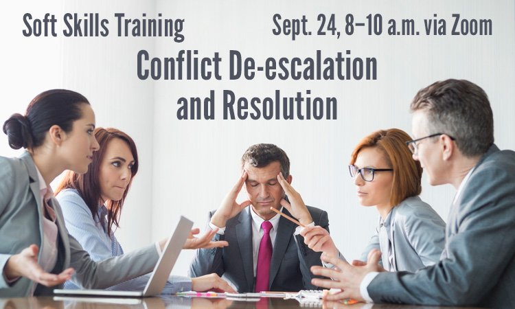 Conflict De-escalation - Soft Skills