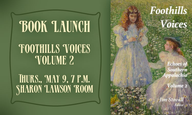 Book Launch - Foothills Voices Volume 2