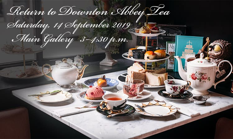 Return to Downton Abbey Tea