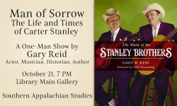 Man of Sorrow: Life and Times of Carter Stanley
