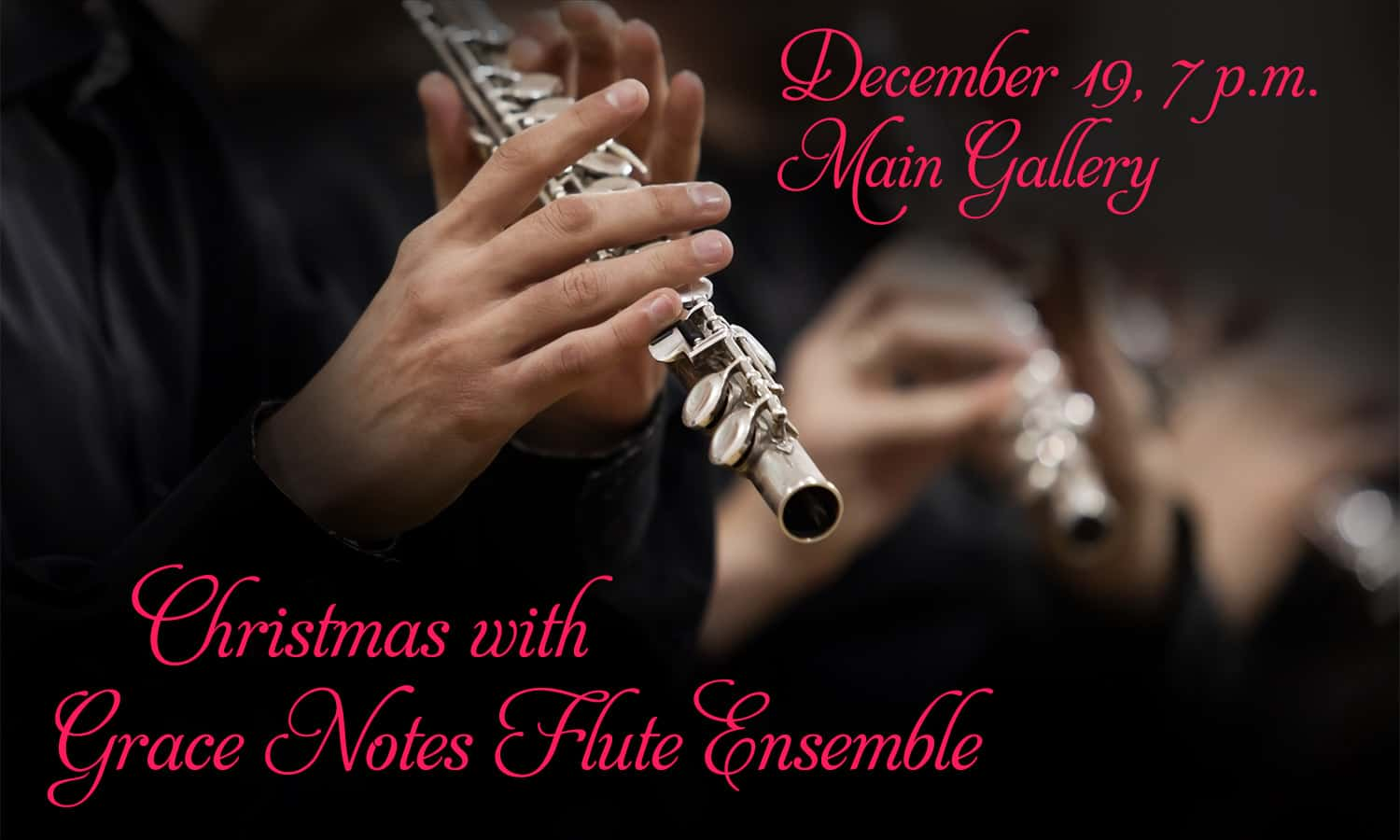 Christmas with Grace Notes Flute Ensemble