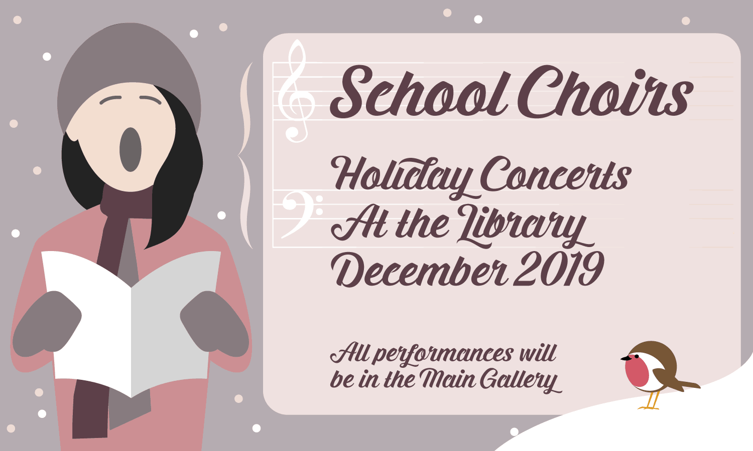 School Choirs - Holiday Concerts