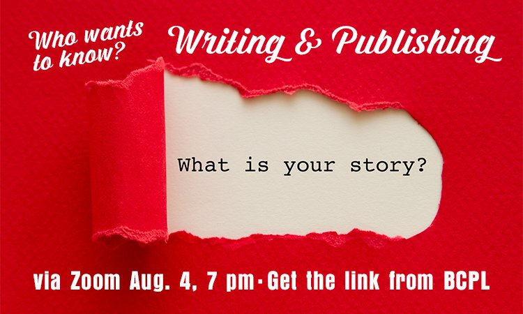 Who Wants To Know? Writing and Publishing