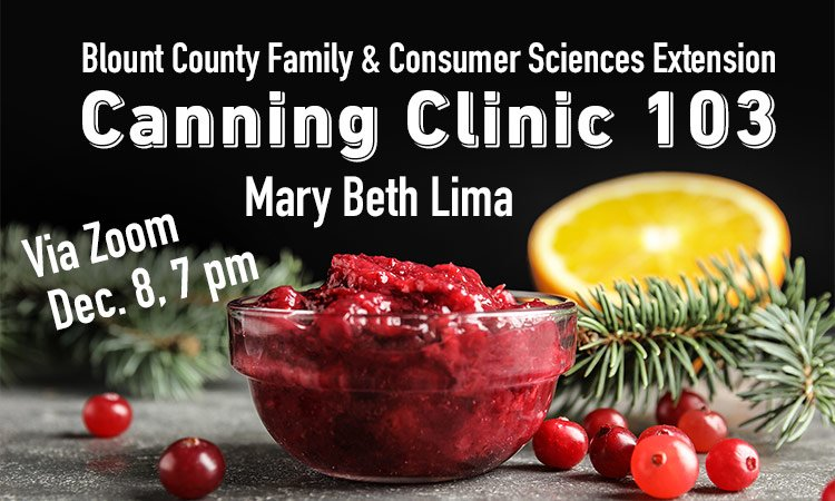 Canning Clinic 103