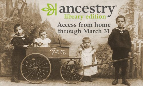 Ancestry | Library Edition