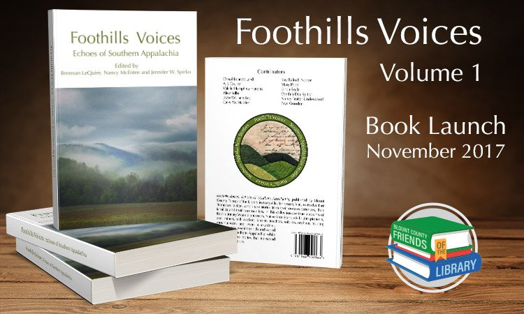 Foothills Voices - Vol. 1 - Book Launch