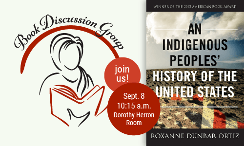 Book Discussion - An Indigenous Peoples' History of the United States